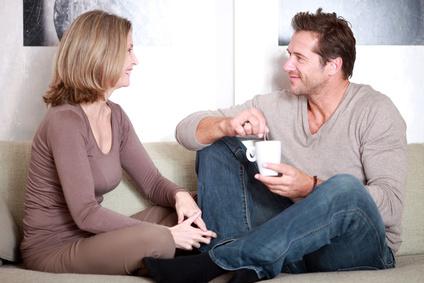 Paarconsulting zugewandtes Paar